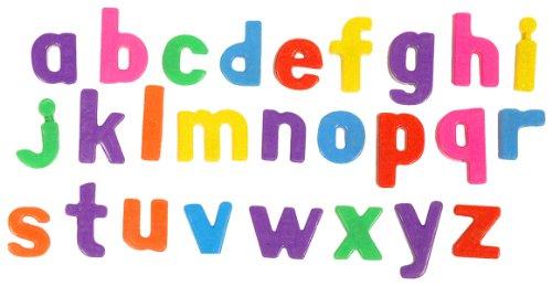 Imagen principal de Miniland - Letras magnéticas minúsculas, 64 piezas (97926)
