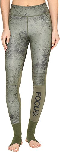 Reebok Women's Noble Fight Ankle Lock Tights Canopy Green Pants