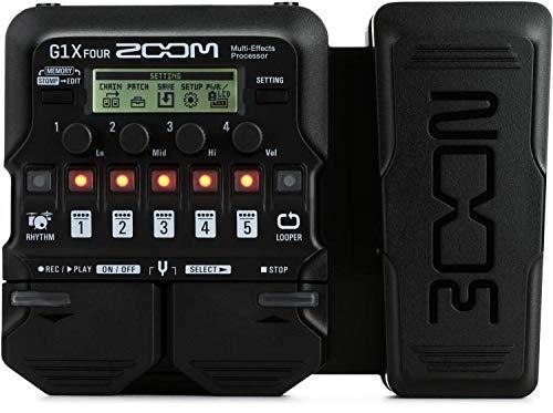 Zoom G1X FOUR Multieffektpedal für Gitarre mit Expressure Pedal