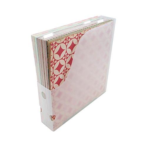 Advantus Kunststoff Aufbewahrung Studios Papier holder-12.5-inch X 33X 2.625-inch