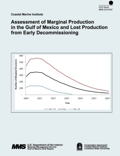 Assessment of Marginal Production in the Gulf of Mexico and Lost Production from Early Decommissioning por U.S. Department of the Interior