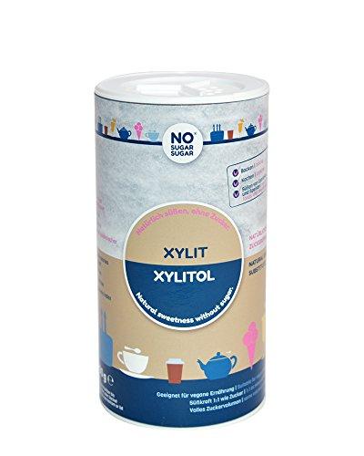 NO SUGAR SUGAR | Xylit (400g Streudose) Zuckerersatz Low-Carb & kalorienreduziert