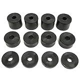 Gummi-Abstandshalter 6 mm M6 (12 Stück) 4 x 15 mm x 20 mm, 4 x (10 mm x 20 mm), 4 x (5 mm x 20 mm)