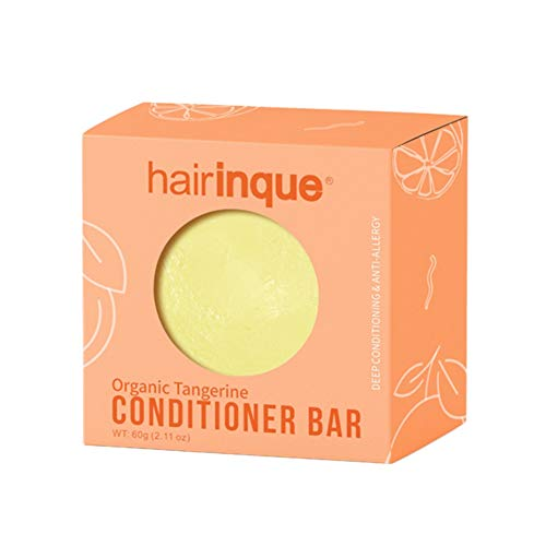 Allouli Organic Hair Conditioner Handmade Soap Vitamin C Hair Shampoo Bar Hair Refreshing Soft Strong and Elastic (Sulfate Free Shampoo Moisture)