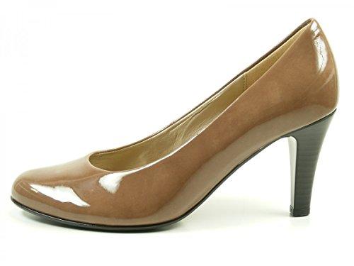 Gabor Shoes Gabor Basic, Scarpe con Tacco Donna Braun