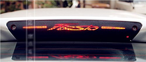 Car-Styling Brake Light Sticker High Mount Stop Lamp Stickers Case For FORD FIESTA Hatchback 2009-2015