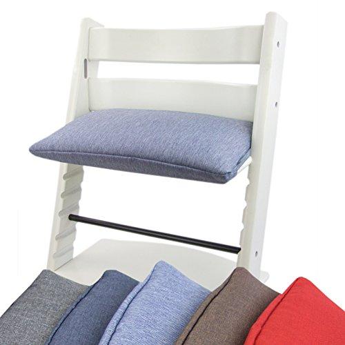 Sitz Grad 1 Polster (BAMBINIWELT Ersatzbezug, Kissen für Hochstuhl/Kinderstuhl Stokke Tripp Trapp, Sitzverkleinerer, 1-teilig (hellblau))
