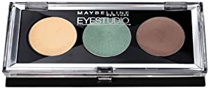 Maybelline - Trio Cream Eye shadow Set - Eyestudio 05 Flash Of Forest