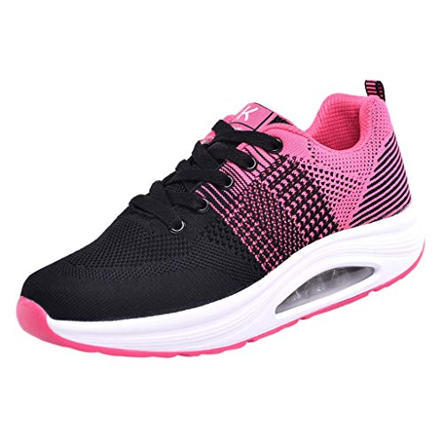 Mesh Sports Shoes Fashion Trainers Athletic Casual Breathable Soft Bottom Sneakers ()