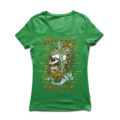lepni.me Camiseta Mujer Deus Spes Nostra - Dios es Nuestra...