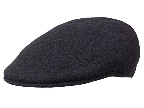 Kangol Casquette Plate Wool 504 Homme - Black - S