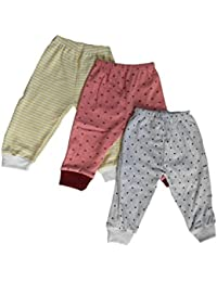 NammaBaby Leggings Ribbed Pajamas for New Born - Set of 3 (12-18 Months)