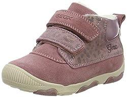 Geox Baby Mädchen B New BALU' Girl A Sneaker, Pink (Dk Pink C8006), 22 EU