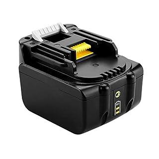 ADpower 195444-8 Li-Ion Battery 14.4 V 3.0 Ah for Makita BL1430 Li-ion Battery Replaces High Performance LG Cell, 14.4V