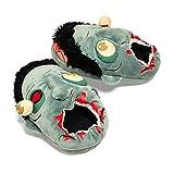 Pantofole Zombie di Peluche Punk Pantofole Calde Pantofole Antiscivolo Halloween Vestono Regali