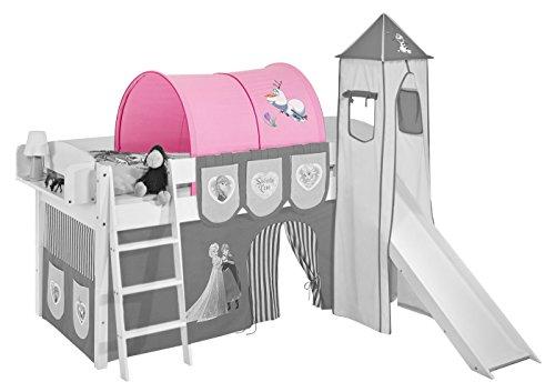 Tenda Tunnel Letto A Castello : Tunnel regina di ghiaccio rosa u2013 per letto a soppalco gioco letto e