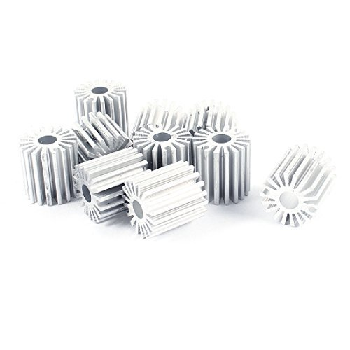 sourcingmapr-10-pieces-20mm-od-5mm-id-20mm-poids-led-lampe-dissipateur-de-chaleur-fin-de-refroidisse