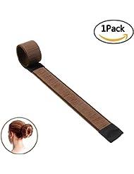NALATI Perruque de cheveux Bun Disk Maker / Cheveux Donut / Chignon Donut Hair Piece Bob Maker Outil cheveux