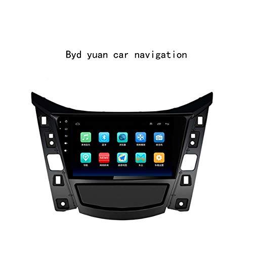CSJD Navegación del Coche, BYD Yuan 10.2inch de Coches Reproductor de vídeo Android 8.1 Car Audio Wireless GPS Navigator