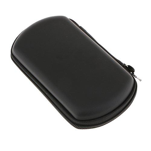 MagiDeal Funda Protectora Dura Bolsa Accesorios para Sony PSP 3000 Juego Controlador Color Negro