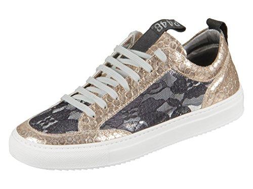 P448 Damen Sneaker E8 SOHO LACE grau 463171