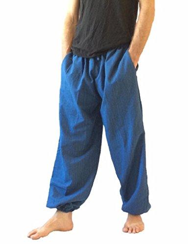 Pantalones-Talla-nica-para-hombre-algodn-harn-pantalones-hippie-boho-pantalones