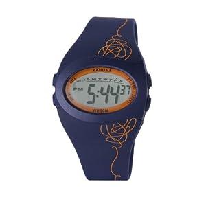 Kahuna KKD-0001M – Reloj de 0 para Hombre, con Correa de Silicona, Color Azul