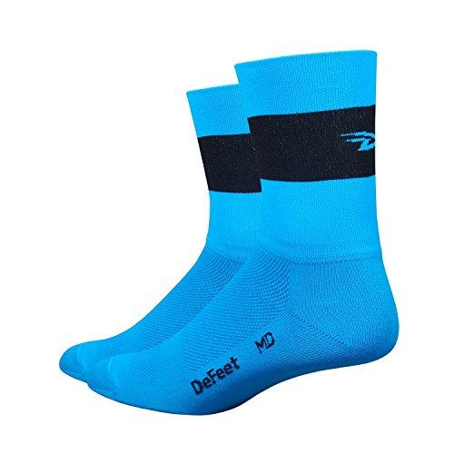 Defeet Aireator Sport Performance Socken mit Coolmax Technologie, leicht und atmungsaktiv, unisex, Fahrradsocken, Laufsocken, Fitness, Training, Tennissocken... -