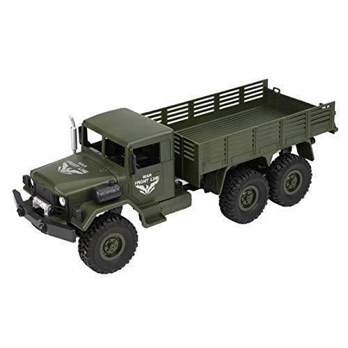 Happy event JJRC Q63 RC 1:16 2,4 G telecomando 6WD persegue camion militare fuoristrada RTR, Verde