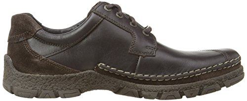 Camel Active Bounty Herren Schuhe Braun (Dark Brown Leather/Oil Suede)