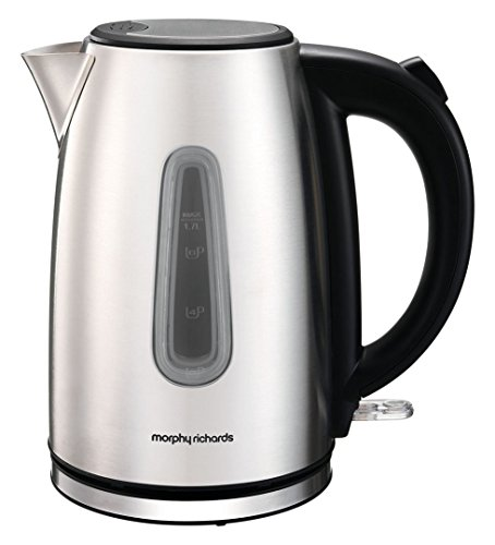 Morphy Richards 102773 Equip Jug Kettle, 3000w, Brushed Best Price and Cheapest
