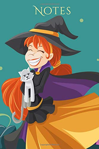 Notes: Happy Witch Halloween Notebook