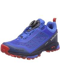 Unisex Adults Anaconda Light Boa GTX Low Rise Hiking Boots, Black/Silver, 12 UK Viking