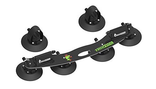 Treefrog Model Pro 2 Bike Carrier rack | aspirazione montato