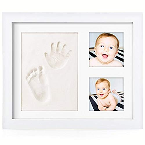 PicoTinaS. Marco fotos huella recuerdo mano pie bebé