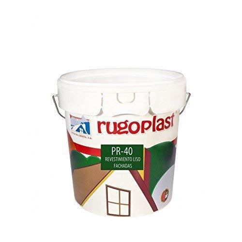 Pintura alta calidad de exteriores blanca revestimiento liso ideal par