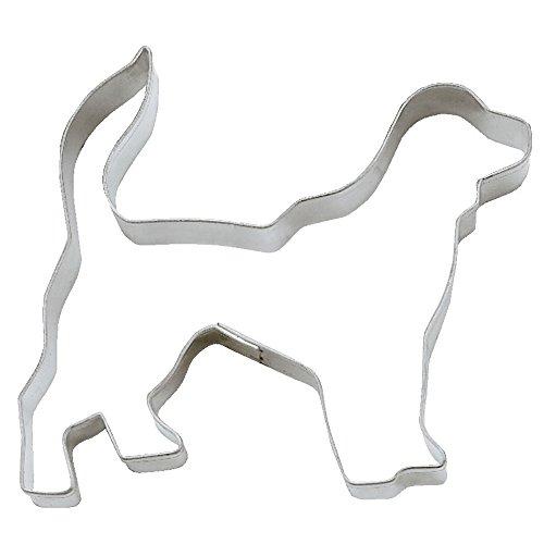 Ausstecher Golden Retriever Hund Keksausstecher Plätzchenform, Edelstahl rostfrei, ca. 7 cm