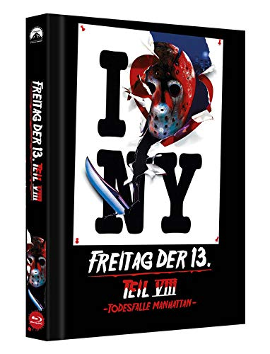 Freitag der 13. Teil 8 - Collectors Edition Mediabook (Cover C) [Blu-ray]