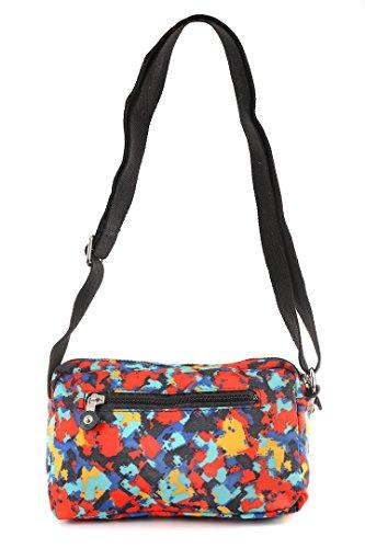 Sterling Rye - Borsa a tracolla unisex adulto donna Art Multicoloured