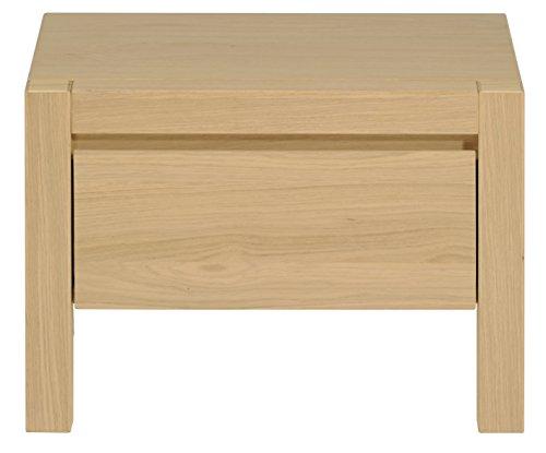 tweed Bedside, 40 x 55 x 38 cm, Clear Oak