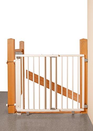 Geuther - Schwenk- Treppenschutzgitter 2733, weiß
