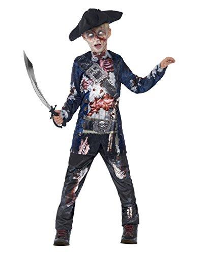 Zombiekostüm Piratenjunge M (Kostüme Baby Jungen Piraten)