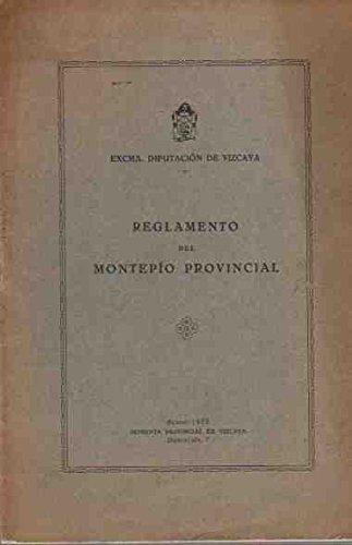 Reglamento del Montep'o Provincial