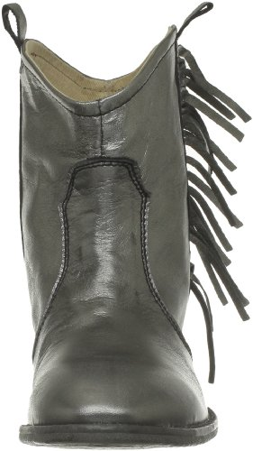 Leather Grigio Pieces Cenia Damen Boot Silver grey gris HnTCEw