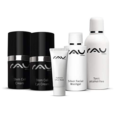 Make-up-starter (RAU Cosmetics Starter-Set für reife Haut - Anti Aging Straffung Waschgel Gesichtswasser Stamzellen)