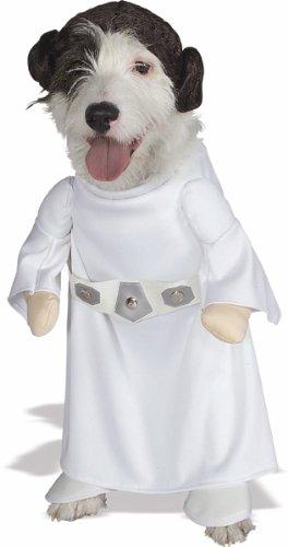 Prinzessin Leia Slave Girl Kostüm für Hunde
