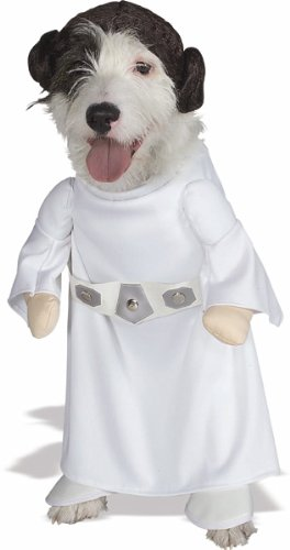 Kostüm Hunde Leia - Prinzessin Leia Slave Girl Kostüm für Hunde Deluxe