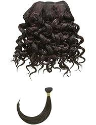 chear Eau Vague Trame Extension de cheveux humains avec de mélange tissage, Nombre P1B/99J, Off Noir/Vin foncé...