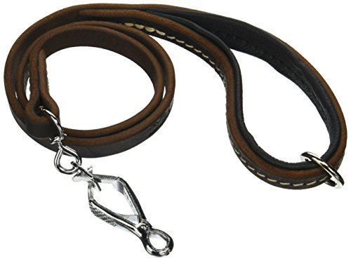 dean-tyler-soft-touch-1-cm-black-padding-dog-leash-with-brown-stainless-steel-ring-on-handle-and-her