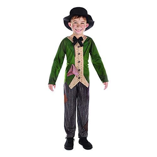 Für Jungen Kostüm Twist Oliver - Bristol Novelty Kinder/Jungen Dickensian Kostüm (XL) (Bunt)